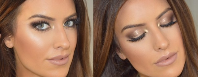 golden make up by eleise eleise lucraft blogger