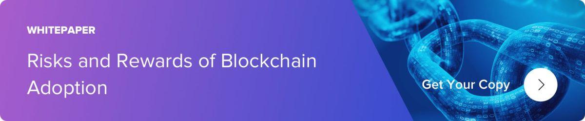 risks and rewards of blockchain adoption