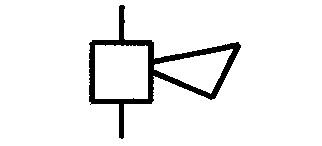 Elektro Symbole, Signaleinrichtungen, Sonnerieapparate