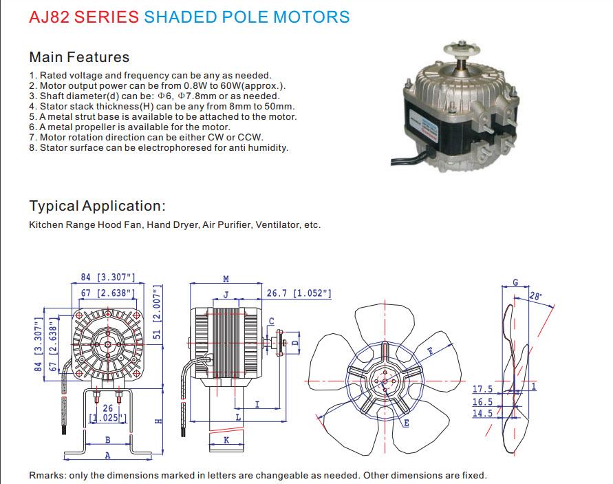 Skygge pol motor 13