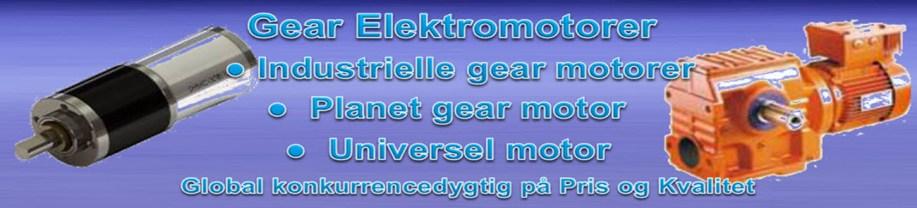 Gear elektro motorer 4