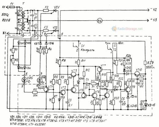 Elektronikschema