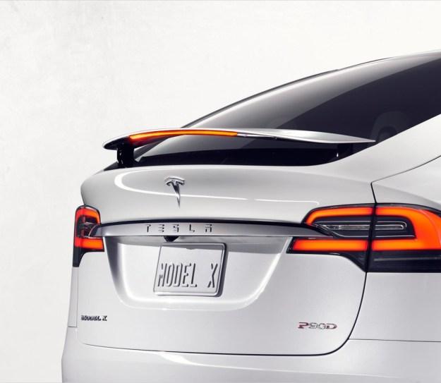 Tesla Model X Heck
