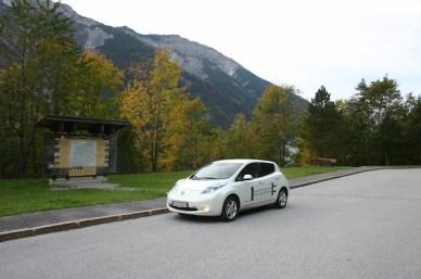 Über den Achenpass u. den Achensee gings es nach Tirol.