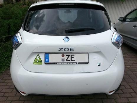 Renault ZOE eines weiterem GoingElectric-Forum-Mitglieds