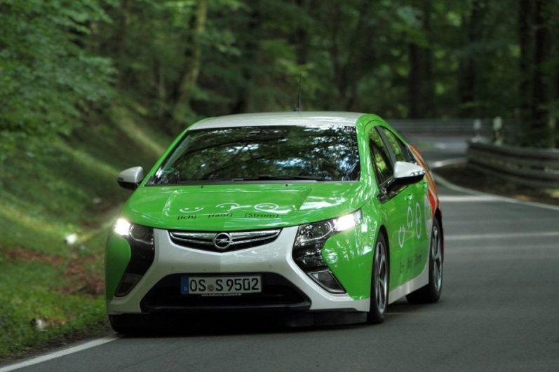 E-Mobil Opel Ampera Foto: www.msc-osnabrueck.com