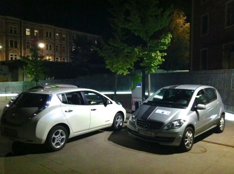 Elektroauto Ladestation Innsbruck