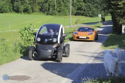 Besuch Michael Dichand Tesla Twizy 02