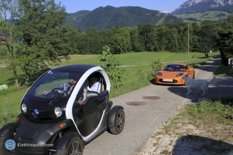 Besuch Michael Dichand Tesla Twizy 03