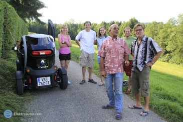Besuch Michael Dichand Tesla Twizy 04