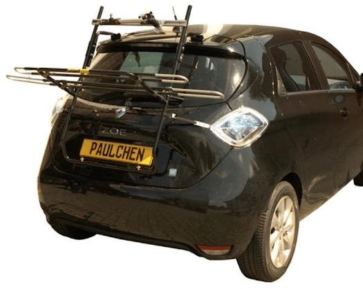 Renault ZOE mit heraus geklapptem Mittellader