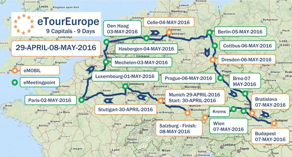 Route eToureurope 2016