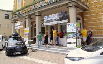 Velden Veranstaltung der KELAG 2 ZOE und EMC-Stand