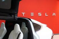 Model X im Tesla Store Graz. Foto: Volker Adamietz / Elektroautor.com