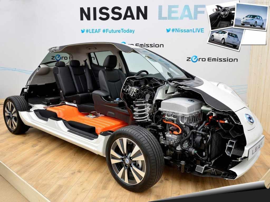 ТО електромобіля Nissan Leaf