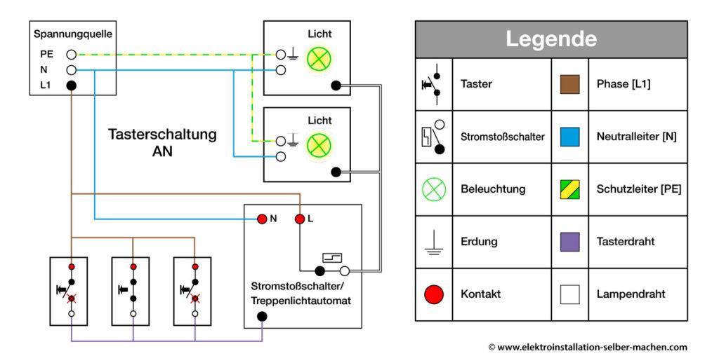 schaltplan wechselschaltung 2 schalter 2 lampen wiring diagram