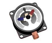 Схема подключения электроконтактного манометра и задвижки с электроприводом