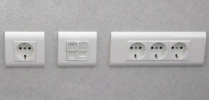 Установка розетки или выключателя