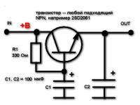 Характеристики транзистора