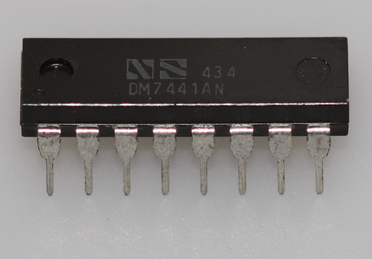 hight resolution of 7441 bcd to decimal decoder nixie tube driver dip 16