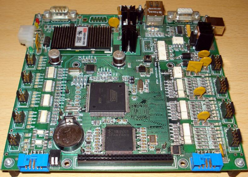 Eksempel på CPU Printkort