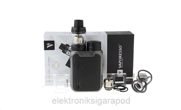 Silver Vaporesso Swag 80W TC Starter Kit