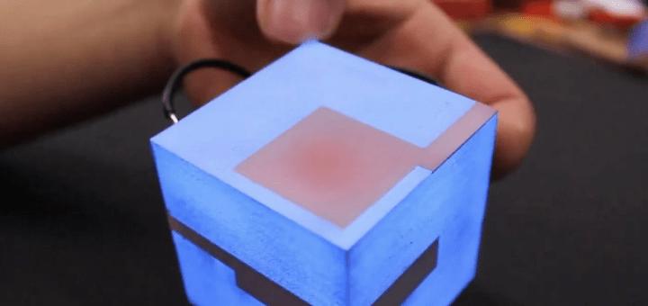 Новая технология позволяет наносить сенсорный дисплей на любые объекты