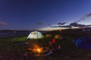 Elektroroller Camping