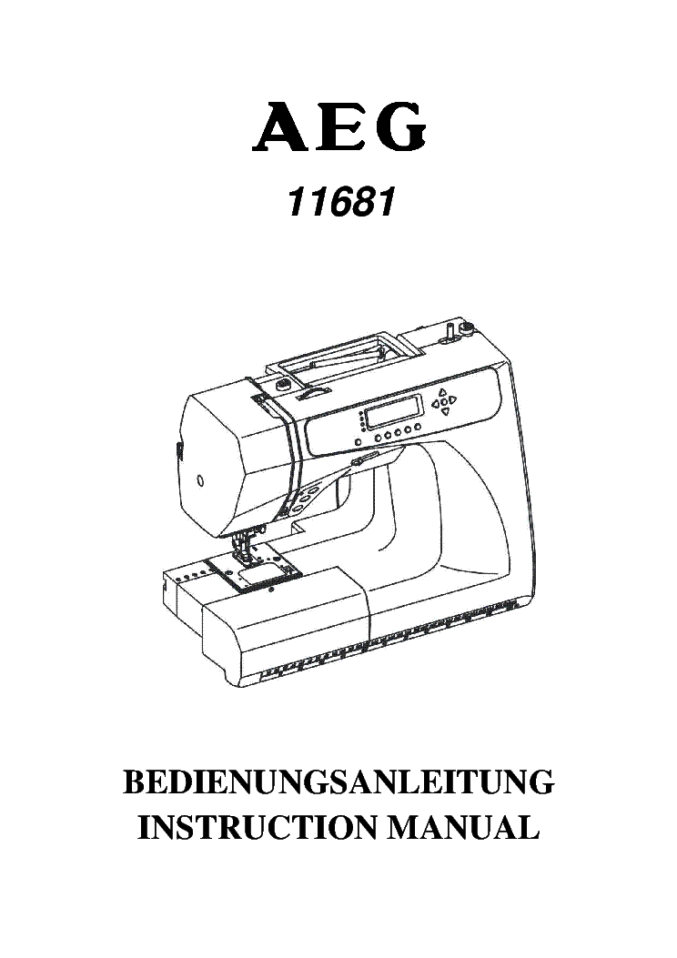 AEG FAVORIT 575UGA EXPLODED VIEW Service Manual download