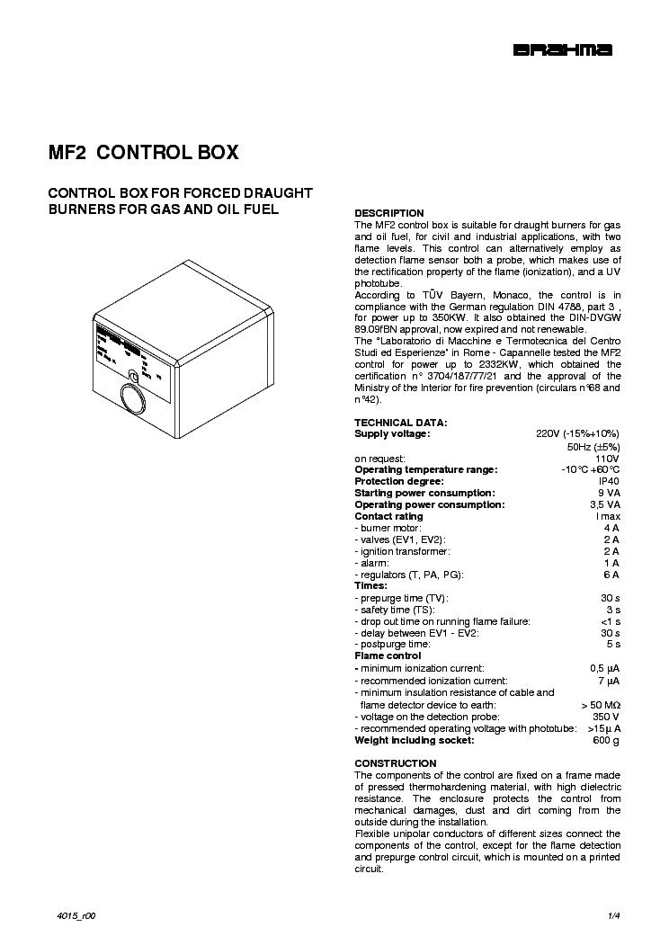 BRAHMA MF2 GAZGYUJTO ELEKTRONIKA Service Manual download
