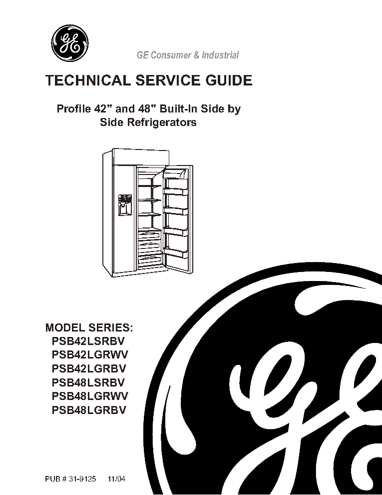 GE JVM2070 31-9111 SM Service Manual download, schematics