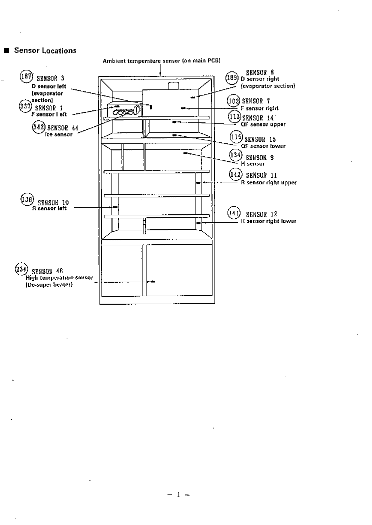 SANYO SR-56HJ REFRIGERATOR Service Manual download