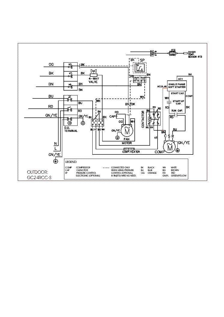 AIRWELL GC-24RCCS AIR-WIRNING Service Manual download
