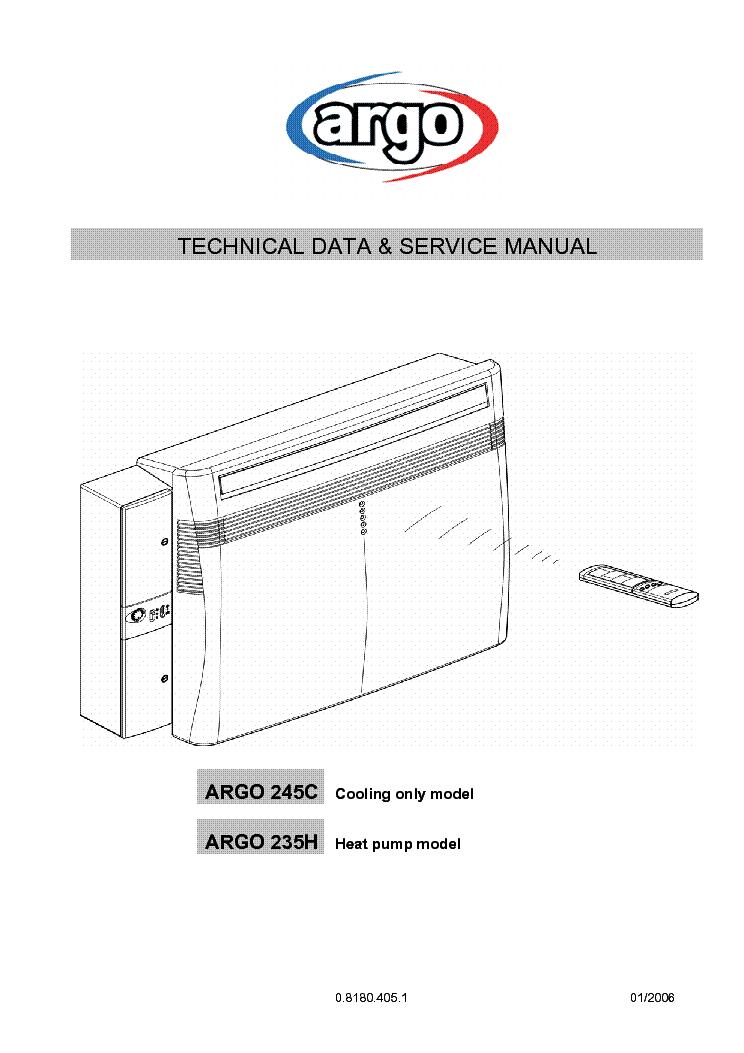 HITACHI ARGO 245C ARGO 235H SM Service Manual download