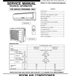hitachi air conditioning wiring diagram [ 815 x 1124 Pixel ]