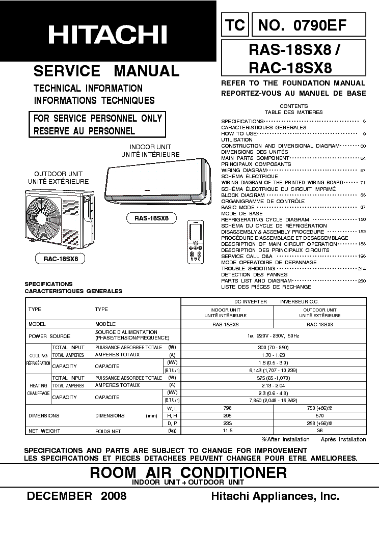 HITACHI SJ700-2 SERIES SM Service Manual free download