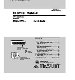 mitsubishi mu 2 schematic wiring database librarymitsubishi ms 24wn w mu 24wn sm service manual download [ 910 x 1290 Pixel ]