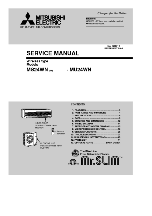 small resolution of mitsubishi mu 2 schematic wiring database librarymitsubishi ms 24wn w mu 24wn sm service manual download
