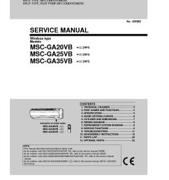 mitsubishi msc ga20vb msc ga25vb msc ga35vb service manual downloadmitsubishi msc ga20vb msc ga25vb msc ga35vb [ 910 x 1290 Pixel ]