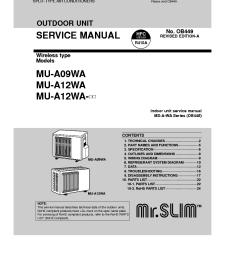 mitsubishi mu a09wa mu a12wa service manual download schematicsmitsubishi mu a09wa mu a12wa service manual [ 910 x 1290 Pixel ]