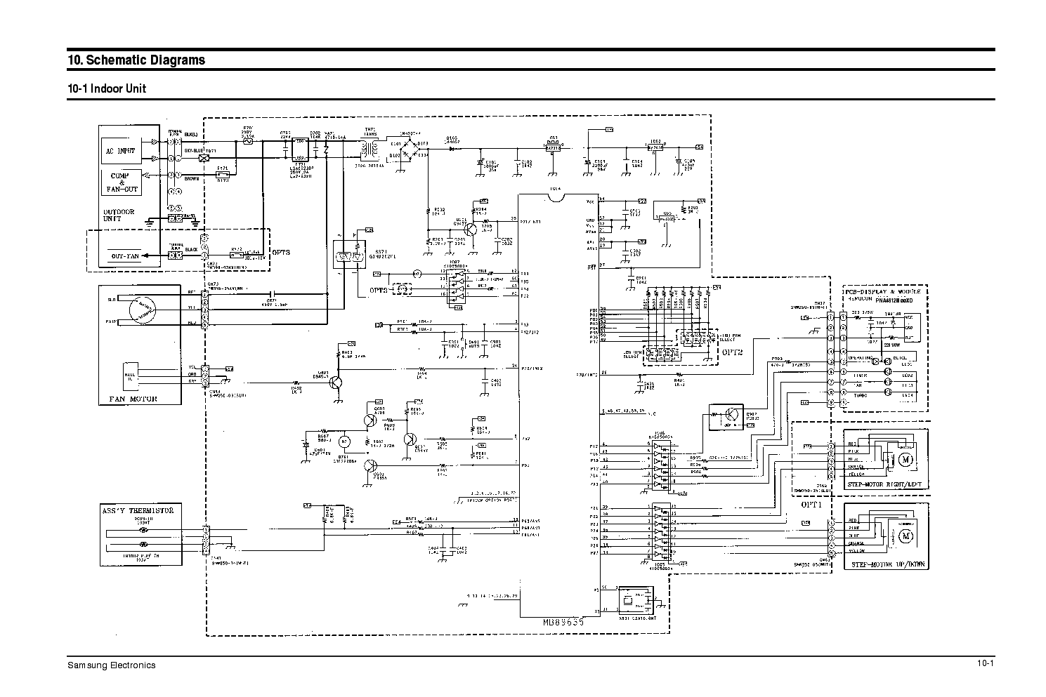 SAMSUNG SRS 2029C Service Manual free download, schematics