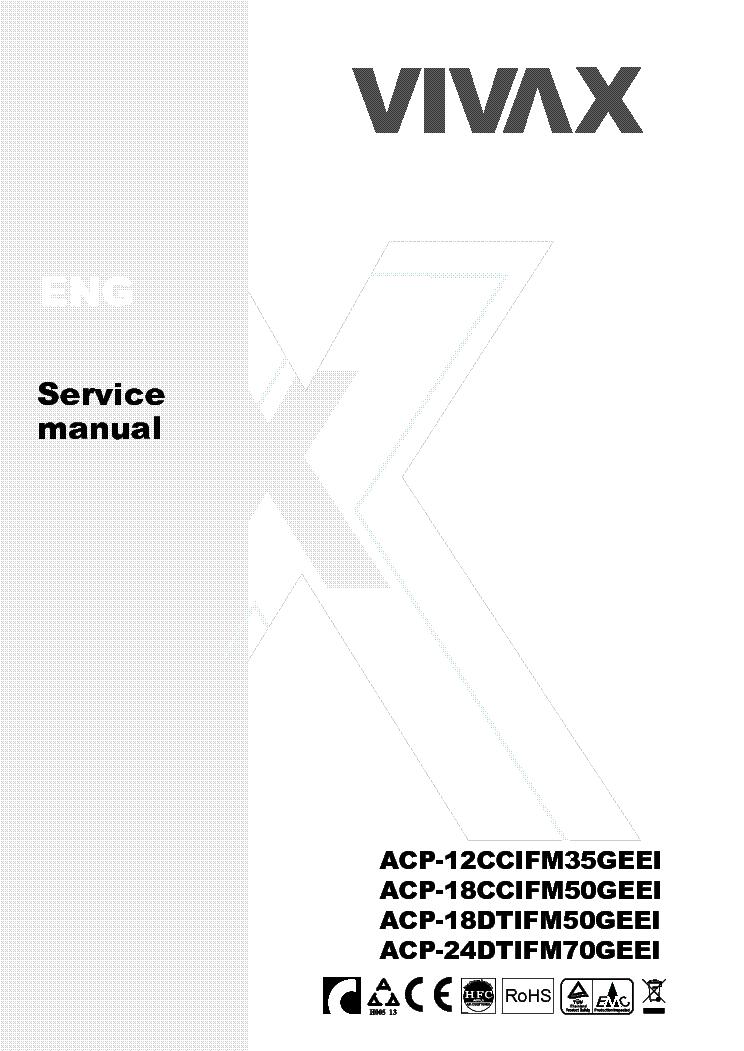 VIVAX CCIFM DTIFM SERVICE MANUAL Service Manual download