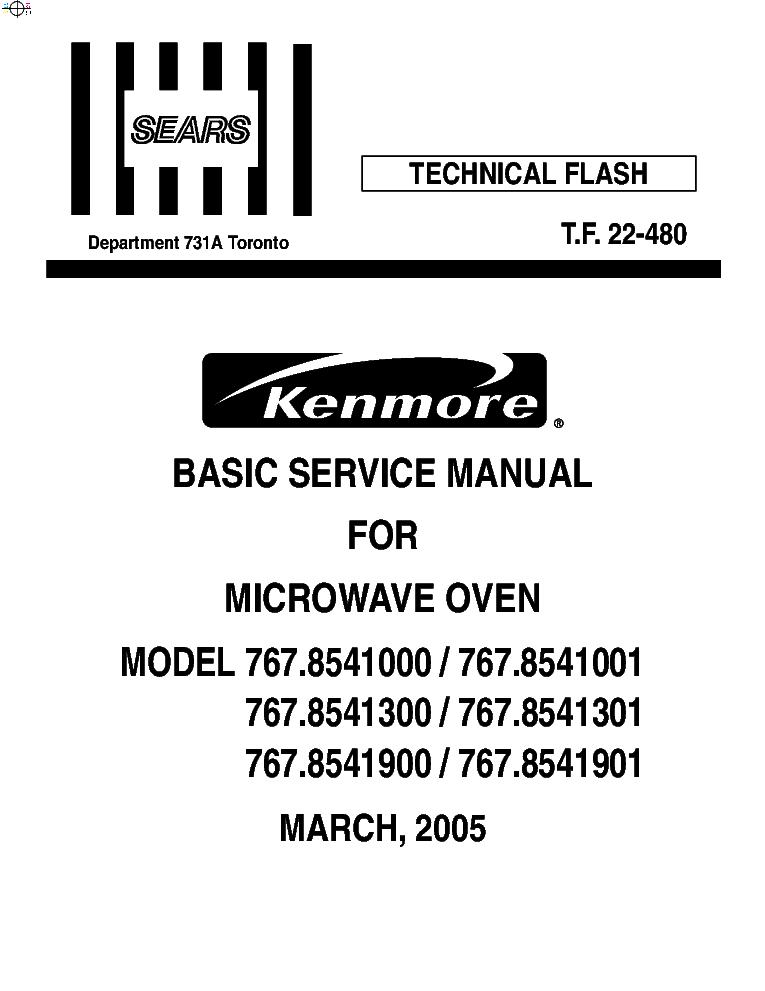 KENMORE 795.773-02-04-06-09-12-14-16-19-.600-601
