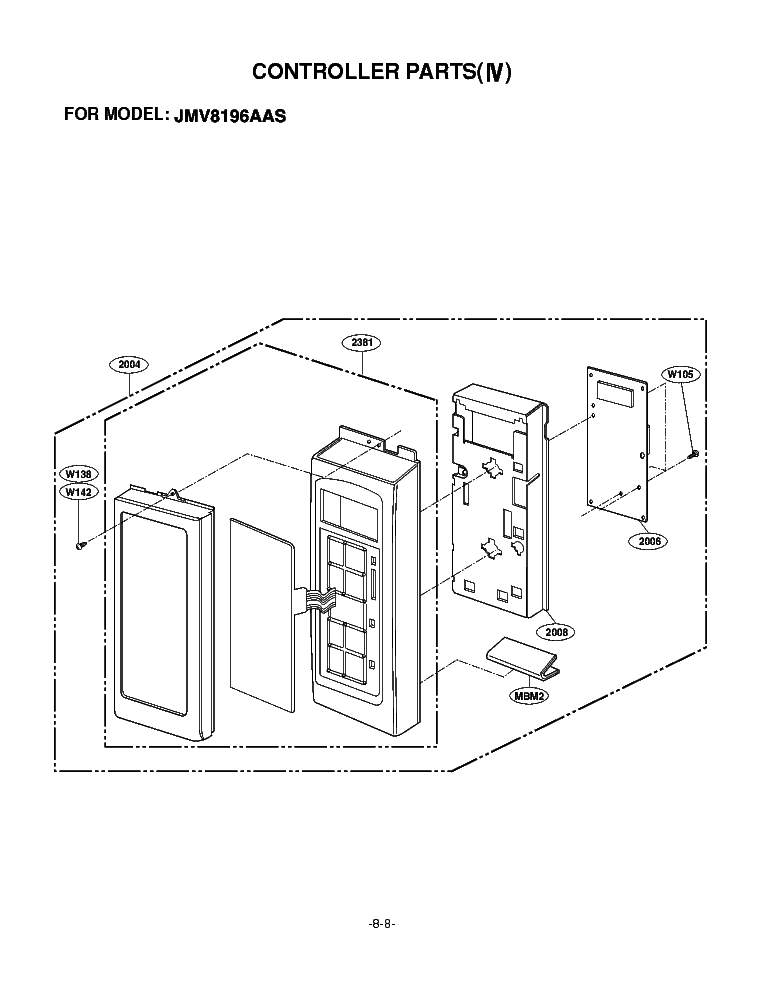LG JMV8196AAS Service Manual download, schematics, eeprom