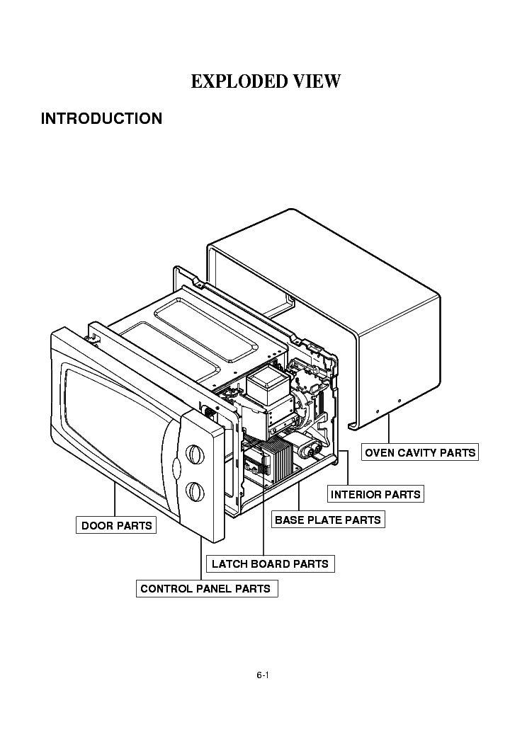 LG MS-192W Service Manual download, schematics, eeprom
