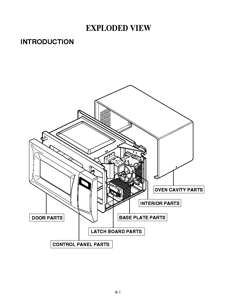 LG MS-4842FB 2003 Service Manual download, schematics