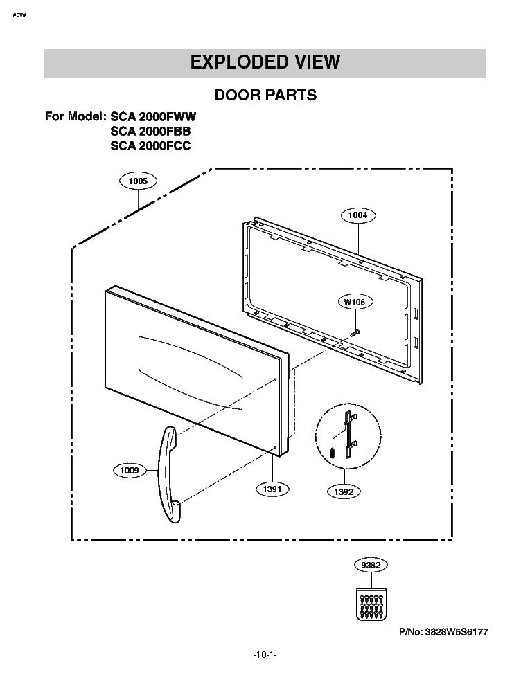 LG SCA-2000FWW-FBB-FCC Service Manual download, schematics
