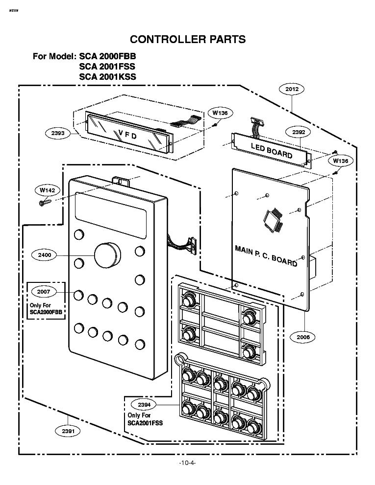 LG SCA-2001FSS-KSS Service Manual download, schematics