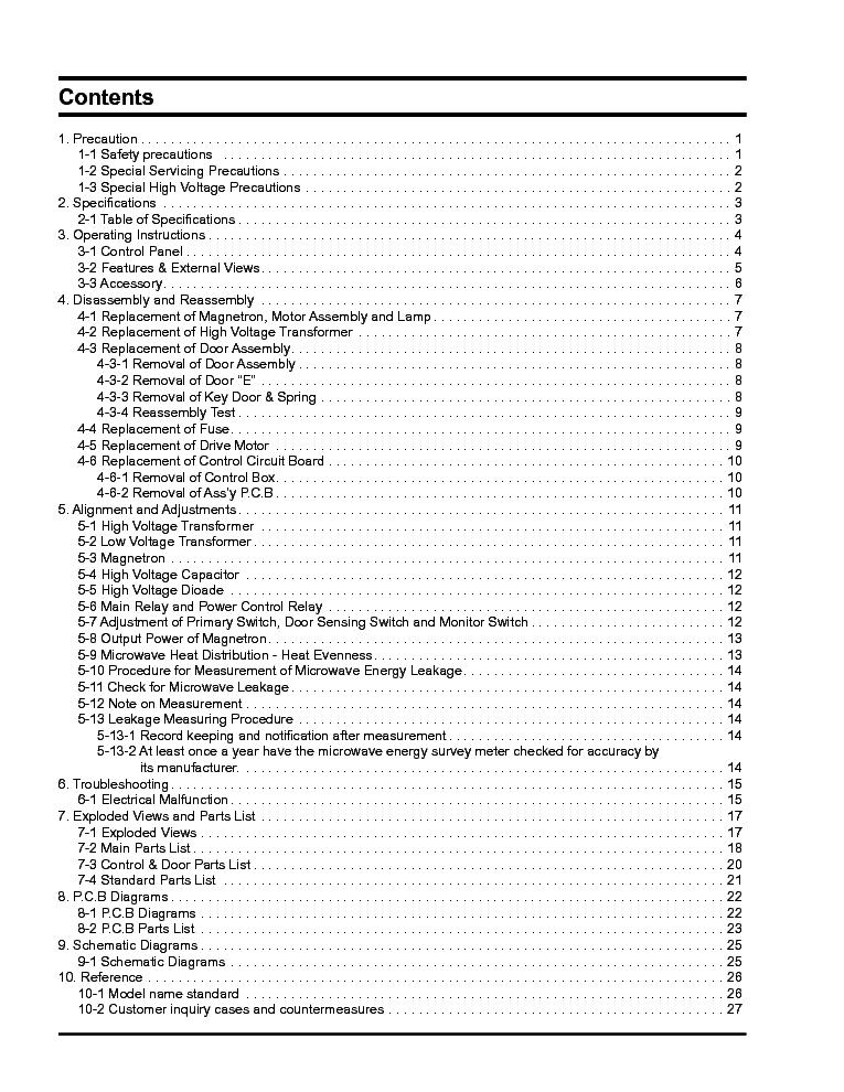 SAMSUNG CE283DN SM Service Manual download, schematics