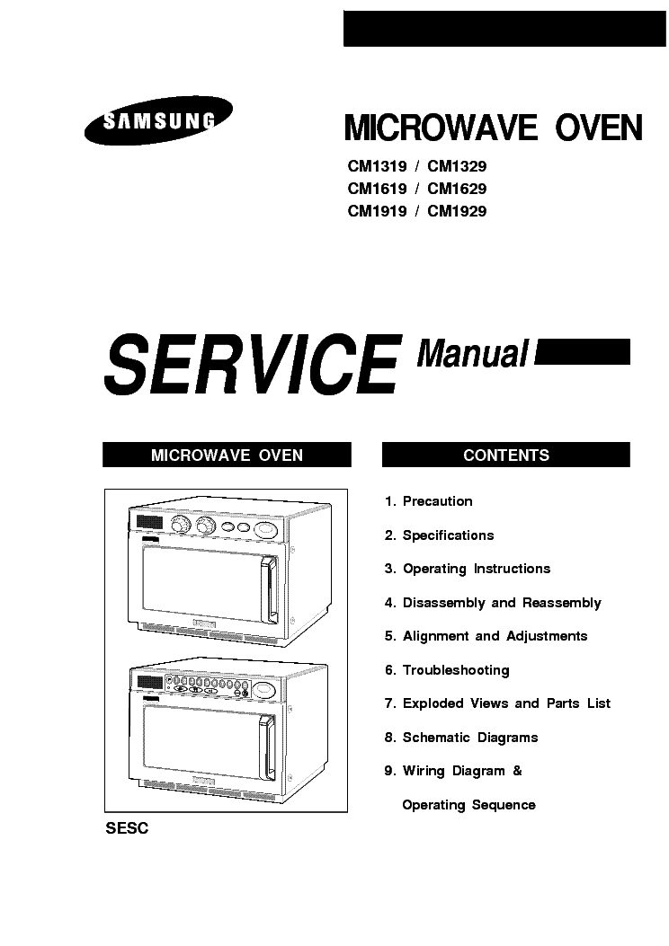 SAMSUNG AQ09 AQ12 SCH Service Manual download, schematics